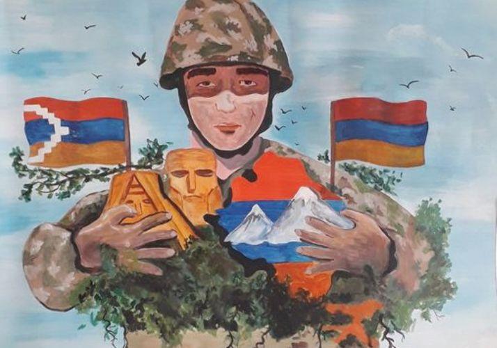 Artista puntana jurado en un concurso de pintura de Armenia